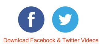 download twitter facebook videos