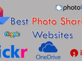 best photo sharing websites