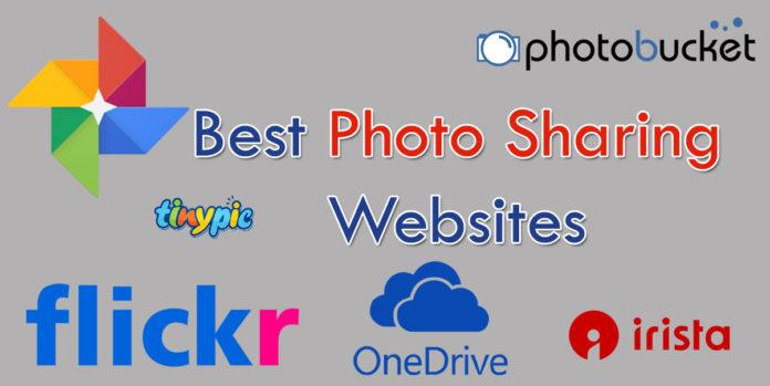 best photo sharing websites