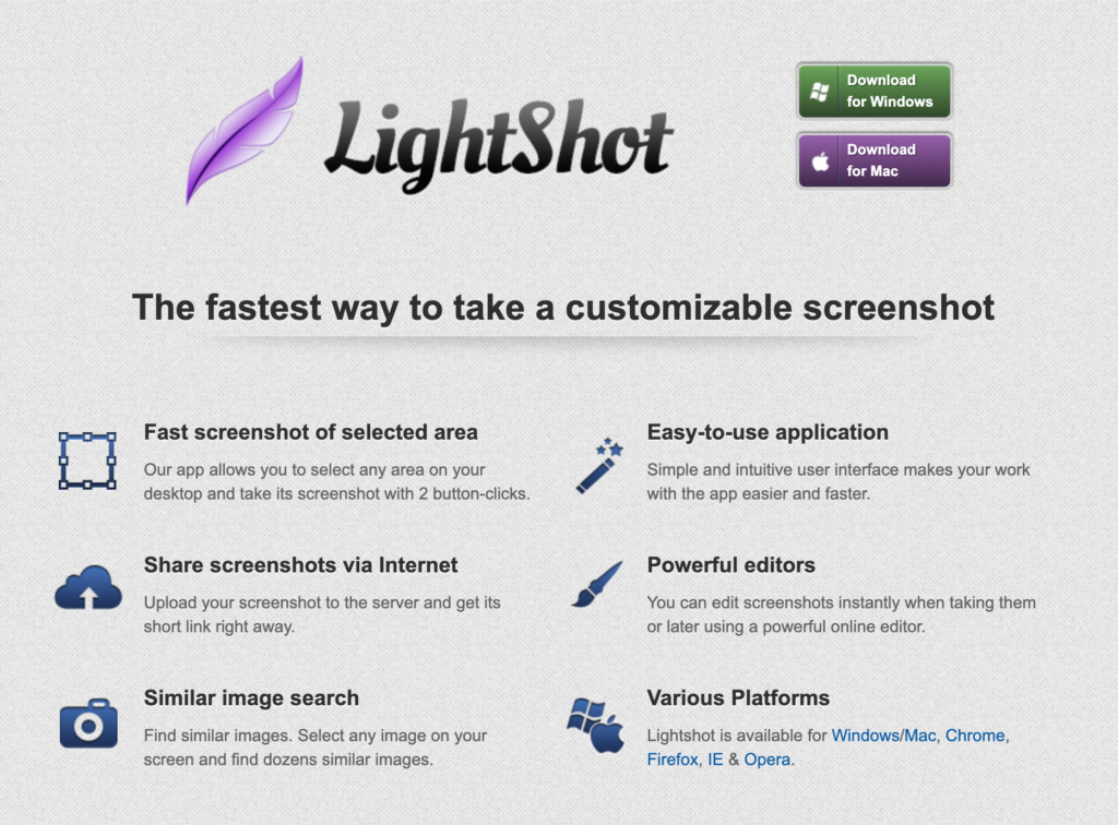 Lightshot Snipping Tool