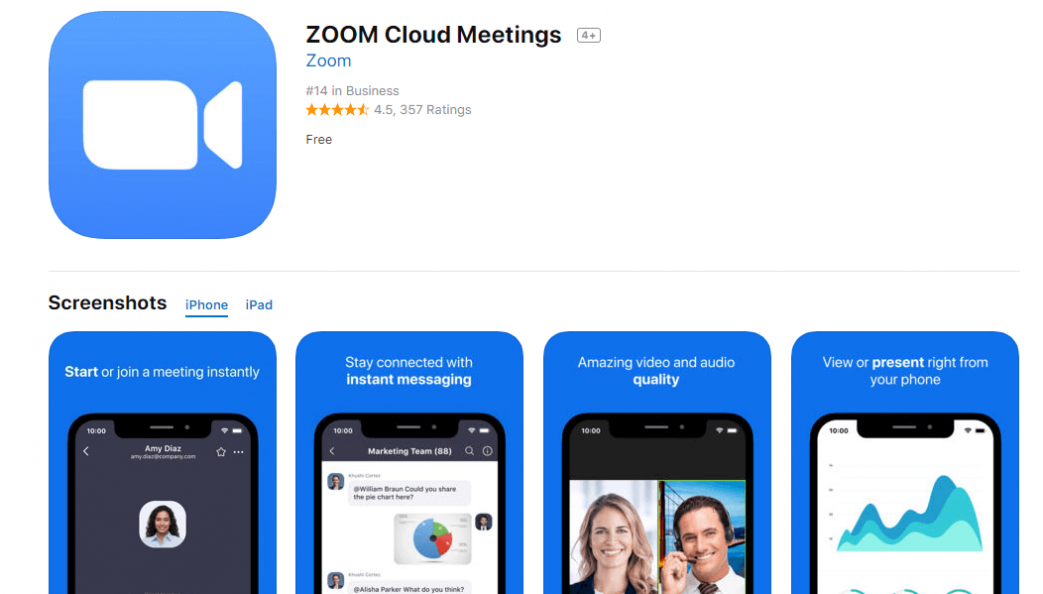 Zoom Video Conferencing App For Mobile And PC, iOS Android ...