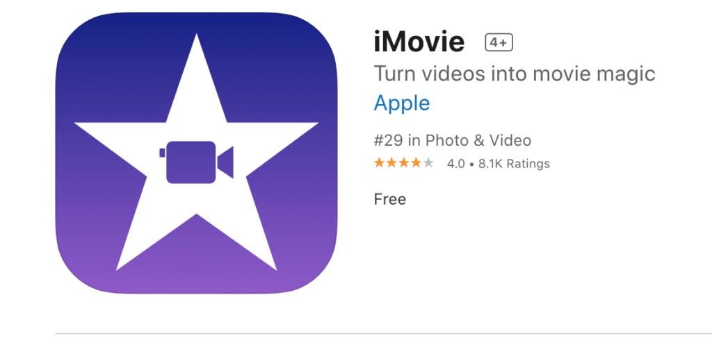 iMovie Video Editor For Mobile